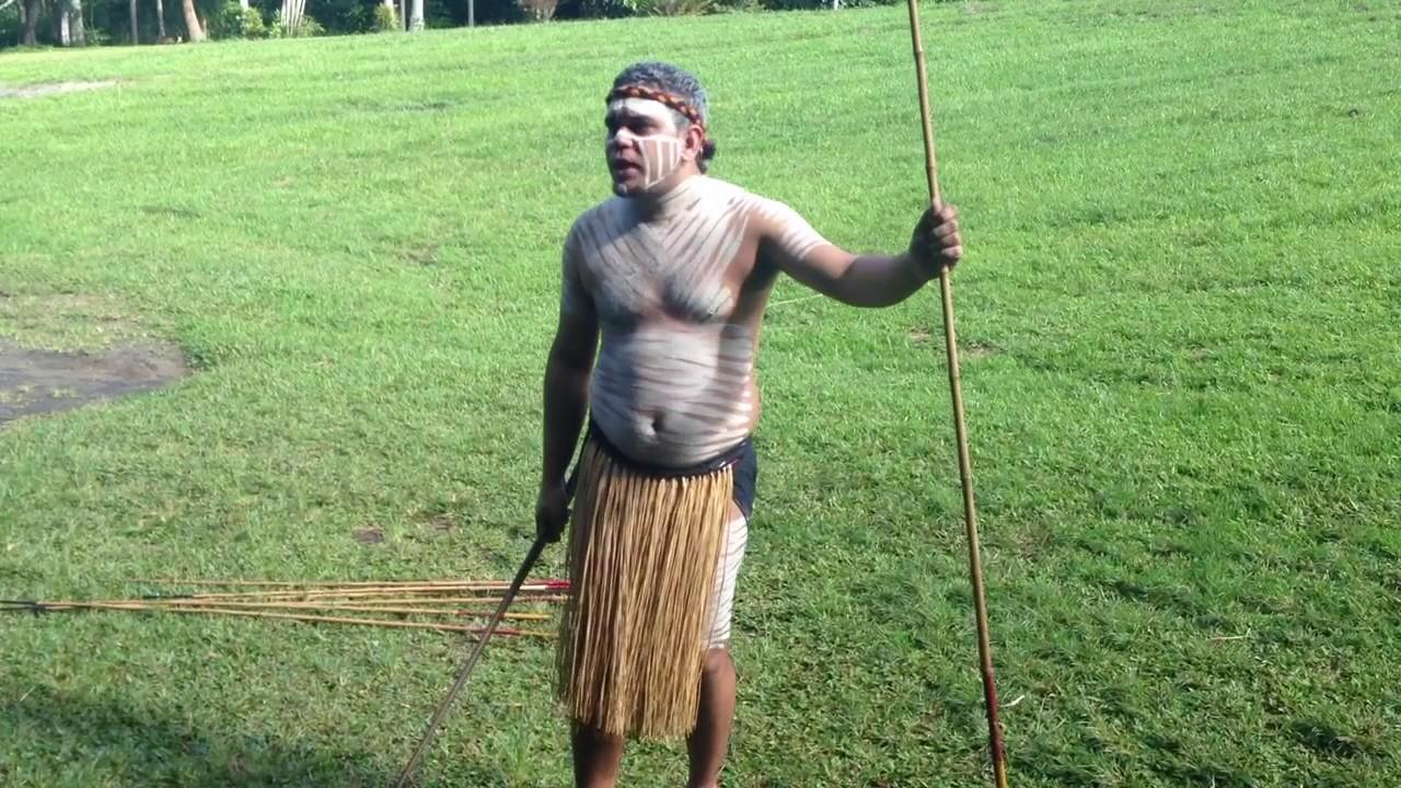 Aboriginal Hunting Spears