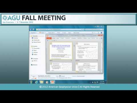 GC53D. Climate Engineering and Carbon Sequestration Monitoring II - 2012 AGU Fall Meeting