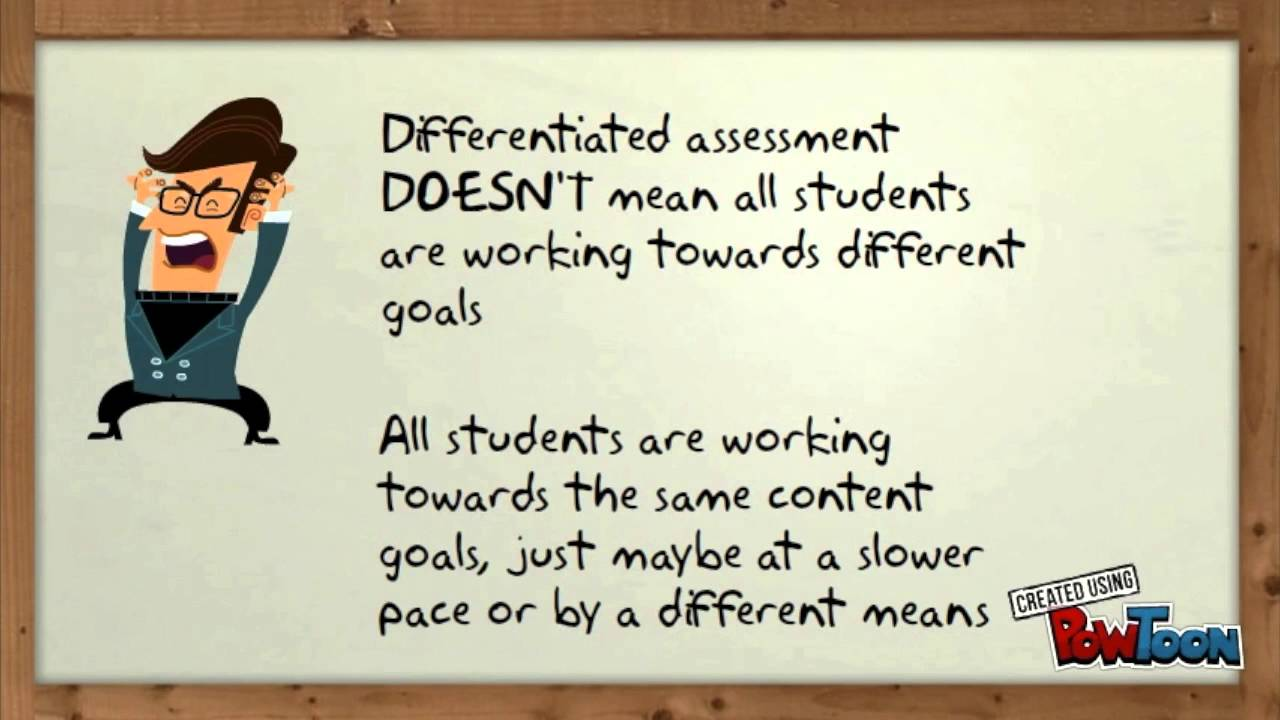 Differentiated Assessment Ted Talk Youtube