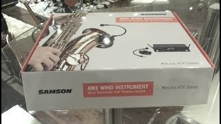 Samson Airline AWX Wireless Microphone Unboxing and Review