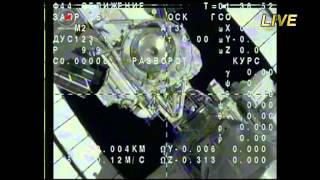 Soyuz TMA 11M Undocking 5/14 若田光一搭乗ソユーズ分離