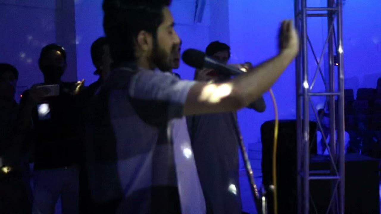 Kali Kali Zulfon Live | Obaid khan | KUST university Kohat Performance |