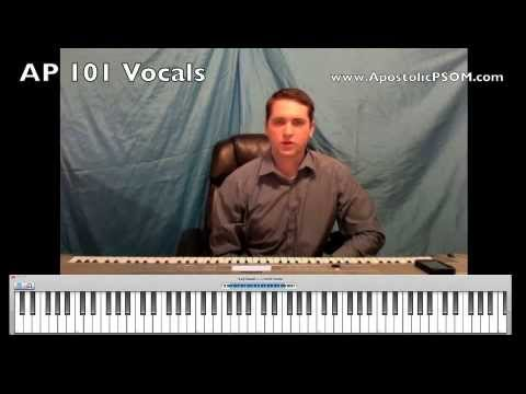 Apostolic Praise 501 Choir Parts - A Crash Course in How To Teach Choir Parts