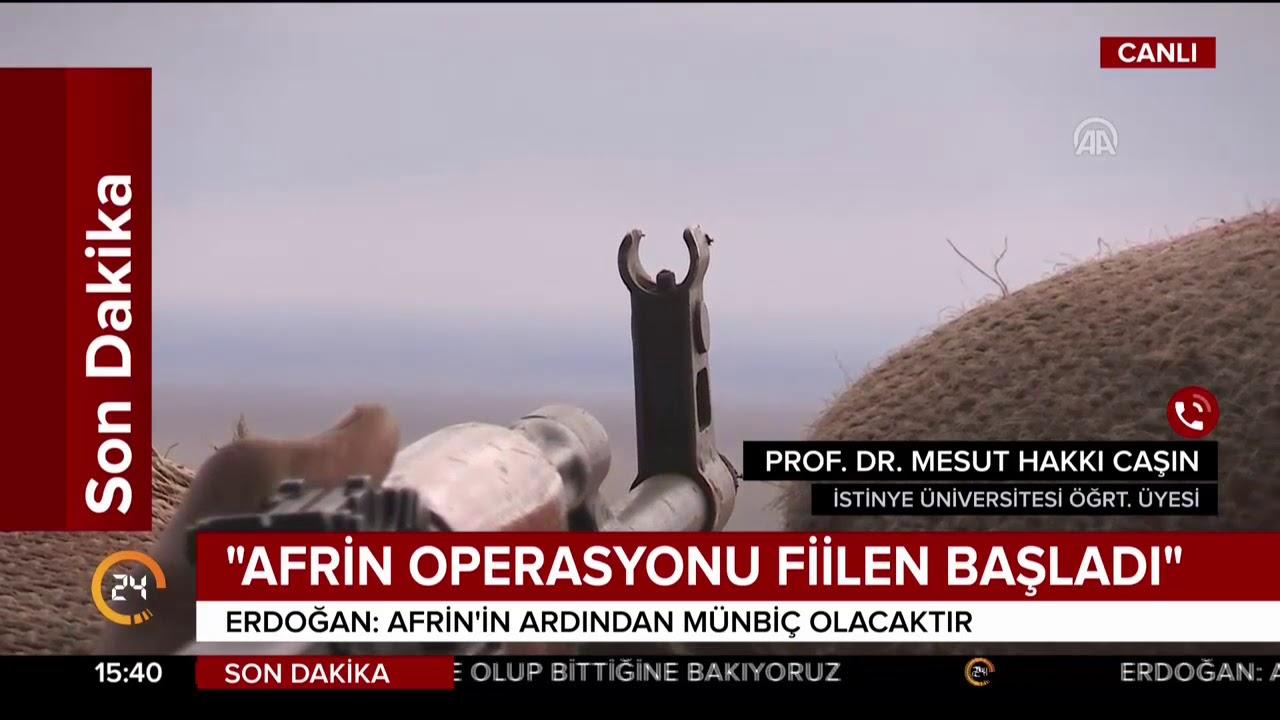 Türkiye blöf yapmıyor, Afrin harekatı başladı!