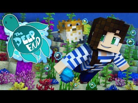 Pet Puffer + Adventuring!  | The Deep End SMP