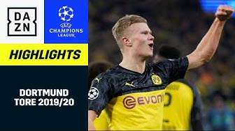 Borussia Dortmund: alle UCL-Tore 2019/20 | UEFA Champions League | DAZN Highlights