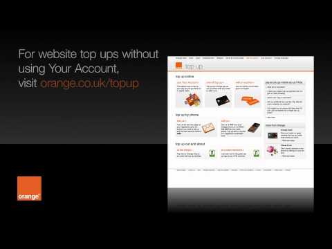 Help | Topping Up And Checking Your Balance - Pay As You Go | Orange UK