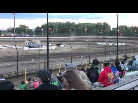 Streetstock heat race #2 at sycamore speedway