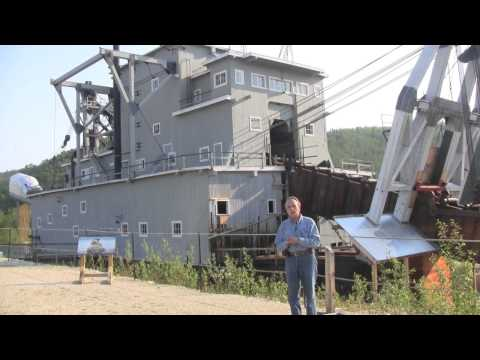 Travel Guide Road Trip to Alaska-Gold Dredge #4 Dawson City Yukon