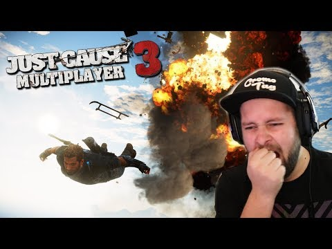 DIT IS HARD! (Just Cause 3 Multiplayer) thumbnail