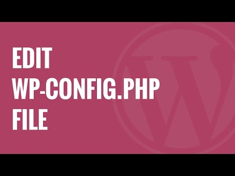 How To Edit Wp-config.php File In WordPress