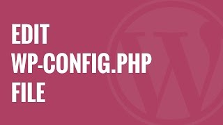 How to Edit wp-config.php File in WordPress Mp3