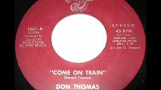 Northern Soul Tribute : Don Thomas - Come On Train