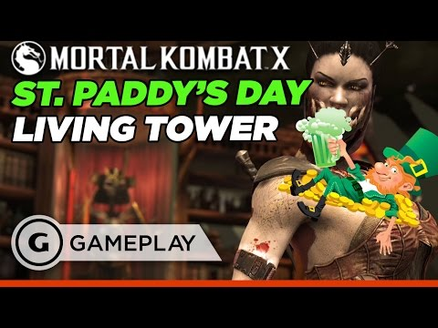 St. Paddy's Day Invades Mortal Kombat XL's Living Towers