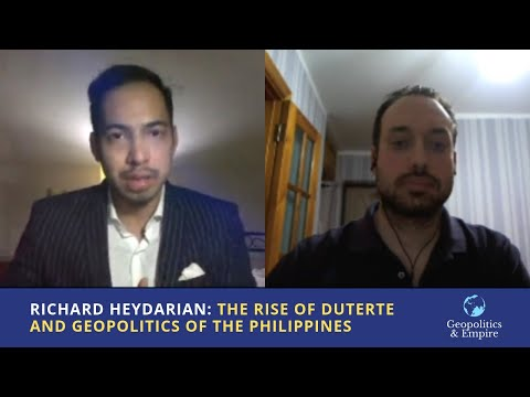Richard Heydarian: The Rise of Duterte and Geopolitics of the Philippines