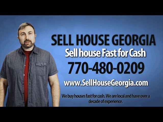 Sell House Georgia Fast 770-480-0209