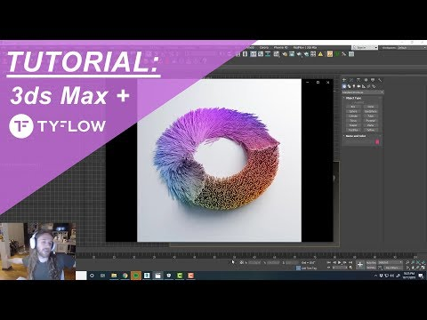 3ds Max And TyFlow TUTORIAL: Physx Sticks