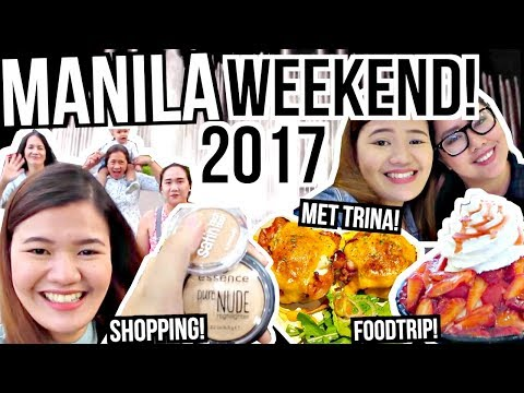 DABAWENYA IN MANILA!!! First Time Mag AIRBNB!!! ♡ | makeupbykarlamisa Vlogs