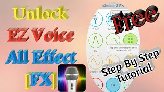 How To Unlock EZ Voice All Effect [FX]? 100% Free - Proof Planet screenshot 3