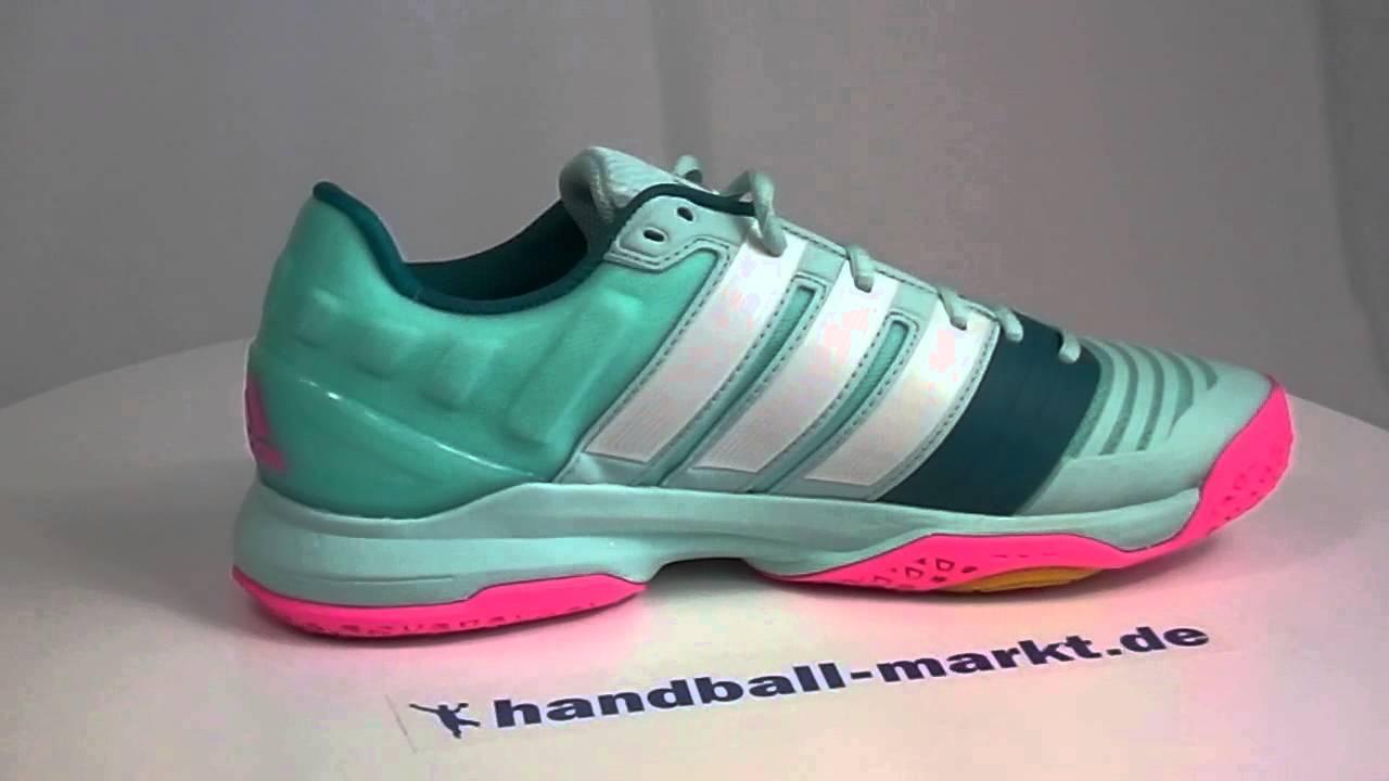 Adidas adipower Stabil 11 Damen Handballschuhe - frost mint ...