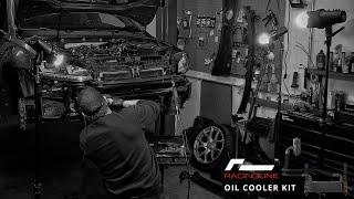 RacingLine Oil Cooler Install Golf R MK7