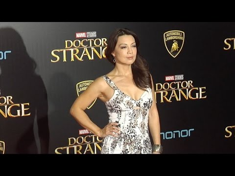 """Ming-Na Wen """"Doctor Strange"""" World Premiere Red Carpet"""