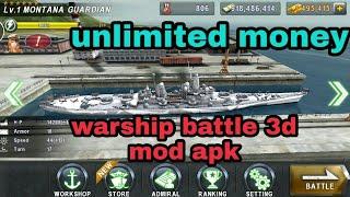 Warship Battle 3d World War II MOD GAMEPLAY(UNLIMITED Money)