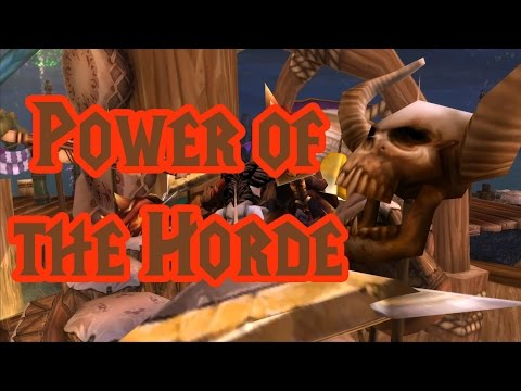 Power of the Horde  Elite Tauren Chieftain Music