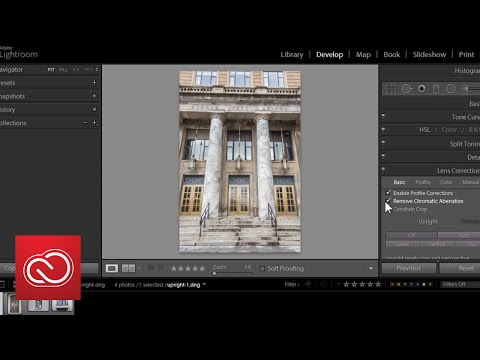 How to straighten and level objects in your photo | Adobe Creative Cloud