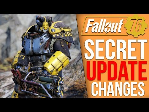 "Fallout 76 - Update Brings New ""Secret"" Changes"
