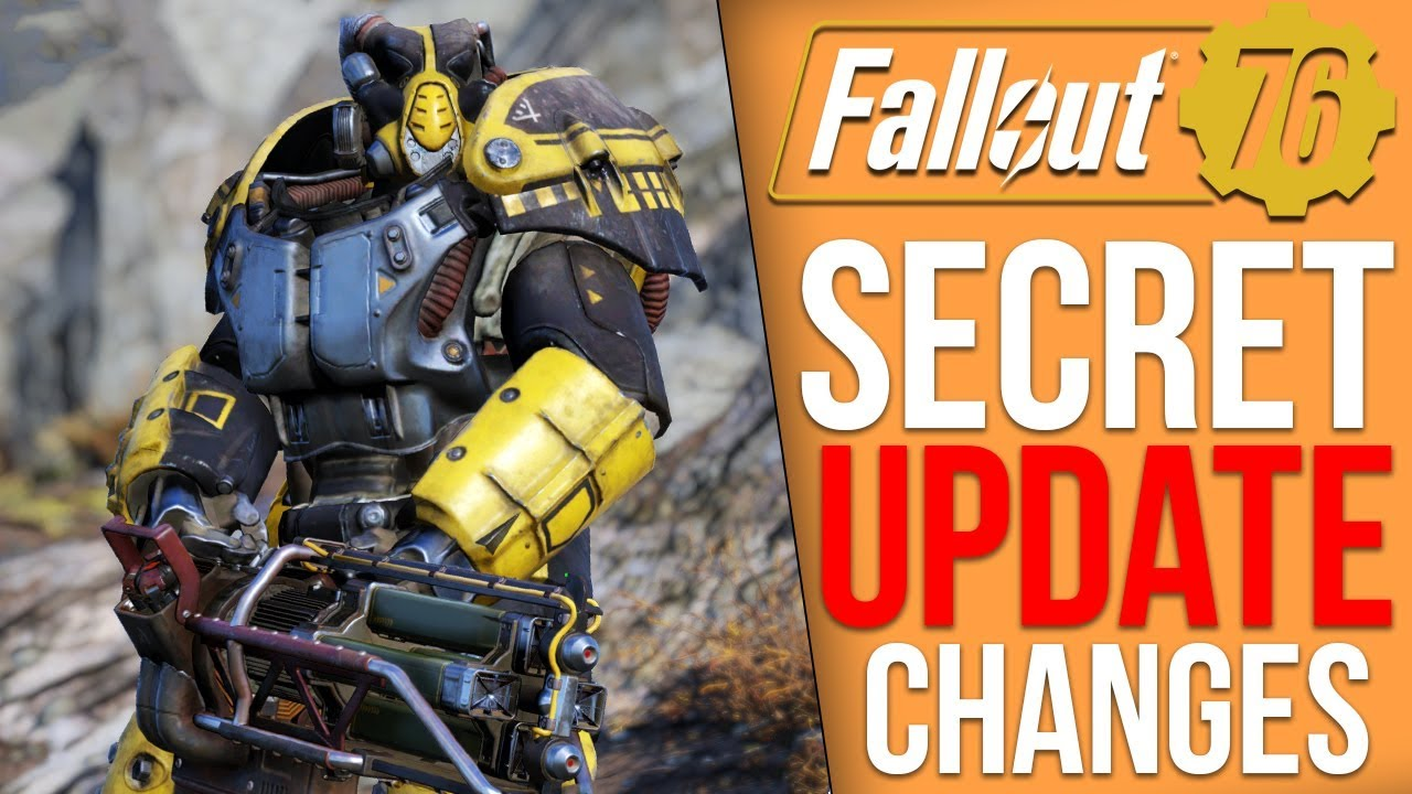 Fallout 76 - Update Brings New
