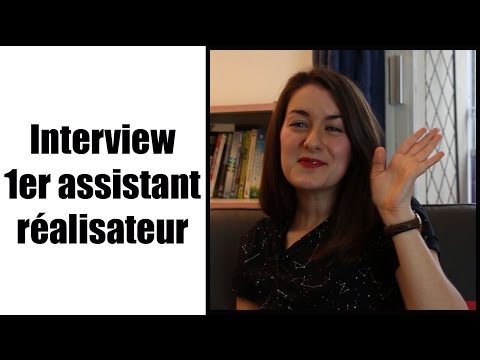 Interview 1er assistant réalisateur - Lucie