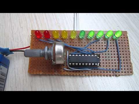 Simple Vu Meter LM3915