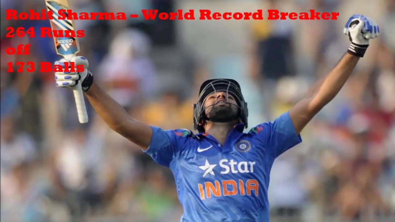 Rohit Sharma 264 Runs In 173balls Vs Srilanka 2014 Hd Highest Odi