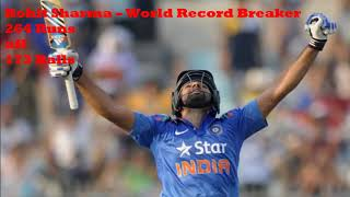 Rohit Sharma - Fastest T20 Century of all time full video