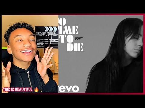 Billie Eilish - No Time To Die (Audio) REACTION!!!