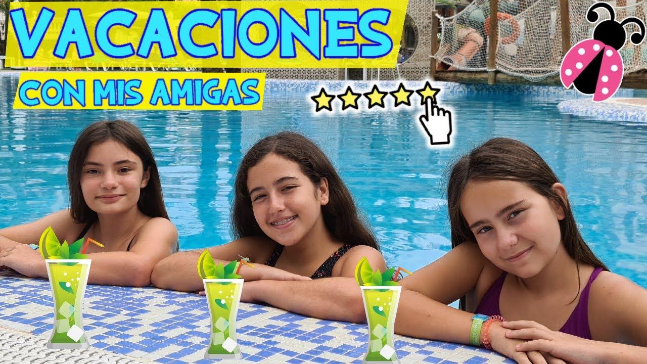 VOY CON MIS AMIGAS A UN RESORT DE LUJO CON PARQUE ACUÁTICO | Magic Tropical Splash (Benidorm)