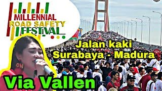 MILLENIAL ROAD SAFETY FESTIVAL 2019 - JEMBATAN SURAMADU SURABAYA MADURA