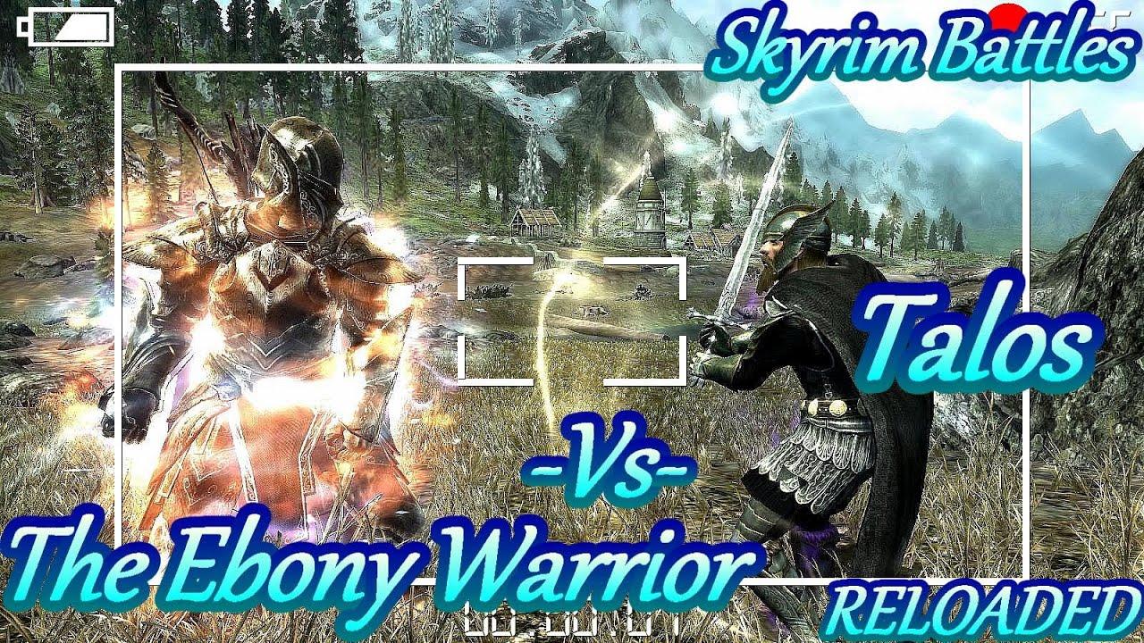 Skyrim ebony warrior id