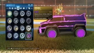 Download lagu Purple Zombas Rocket League Wheel Showcase MP3