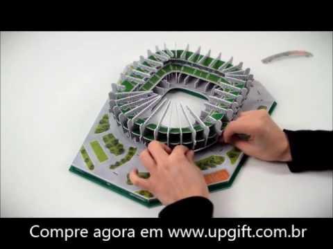 Maquete Allianz Parque Palmeiras