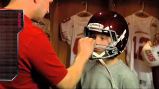 Riddell Revolution® Speed Youth   Helmet Fitting Guide
