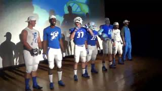 Notre Dame College Football Uniform Reveal 2013
