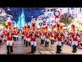 2018 Mickey's Once Upon A Christmastime Parade at Very Merry Christmas Party w/Ralph, Vanellope +