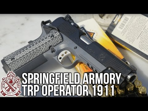 Springfield Armory TRP Operator 1911 Review and Water Submersion