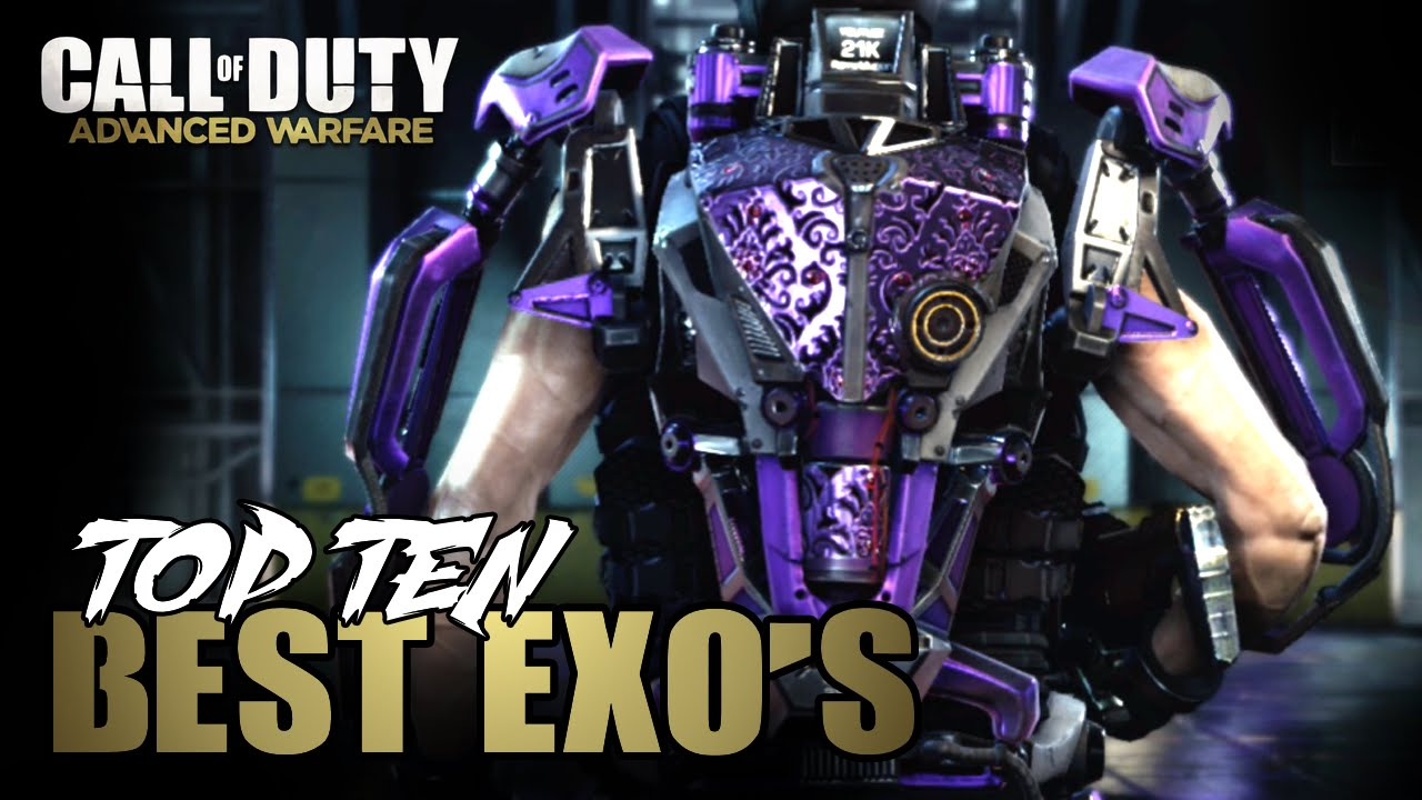 Top 10 Best Exo Suits In Advanced Warfare