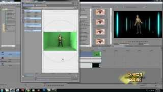 tutorial Efecto chroma key professional sony vegas 11