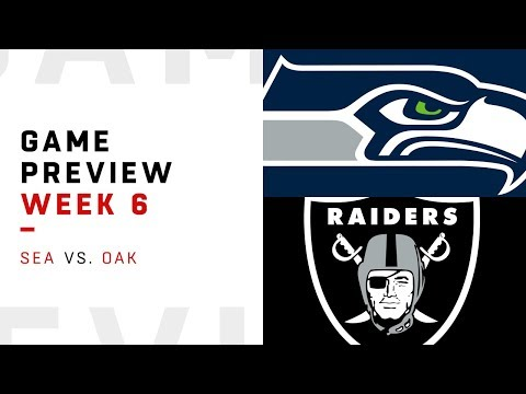 Seattle Seahawks vs. Oakland Raiders | Week 6 Game Preview | NFL Playbook