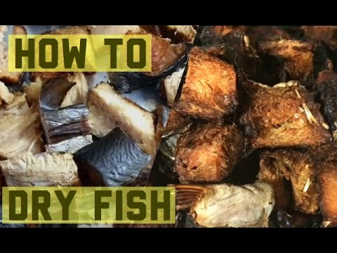 HOW TO DRY FISH IN THE OVEN/fresh/smoked