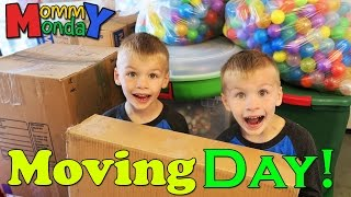When it Rains on Moving Day || Mommy Monday